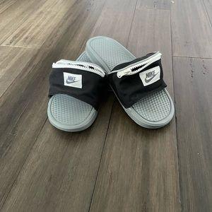 Nike Slides with pocket